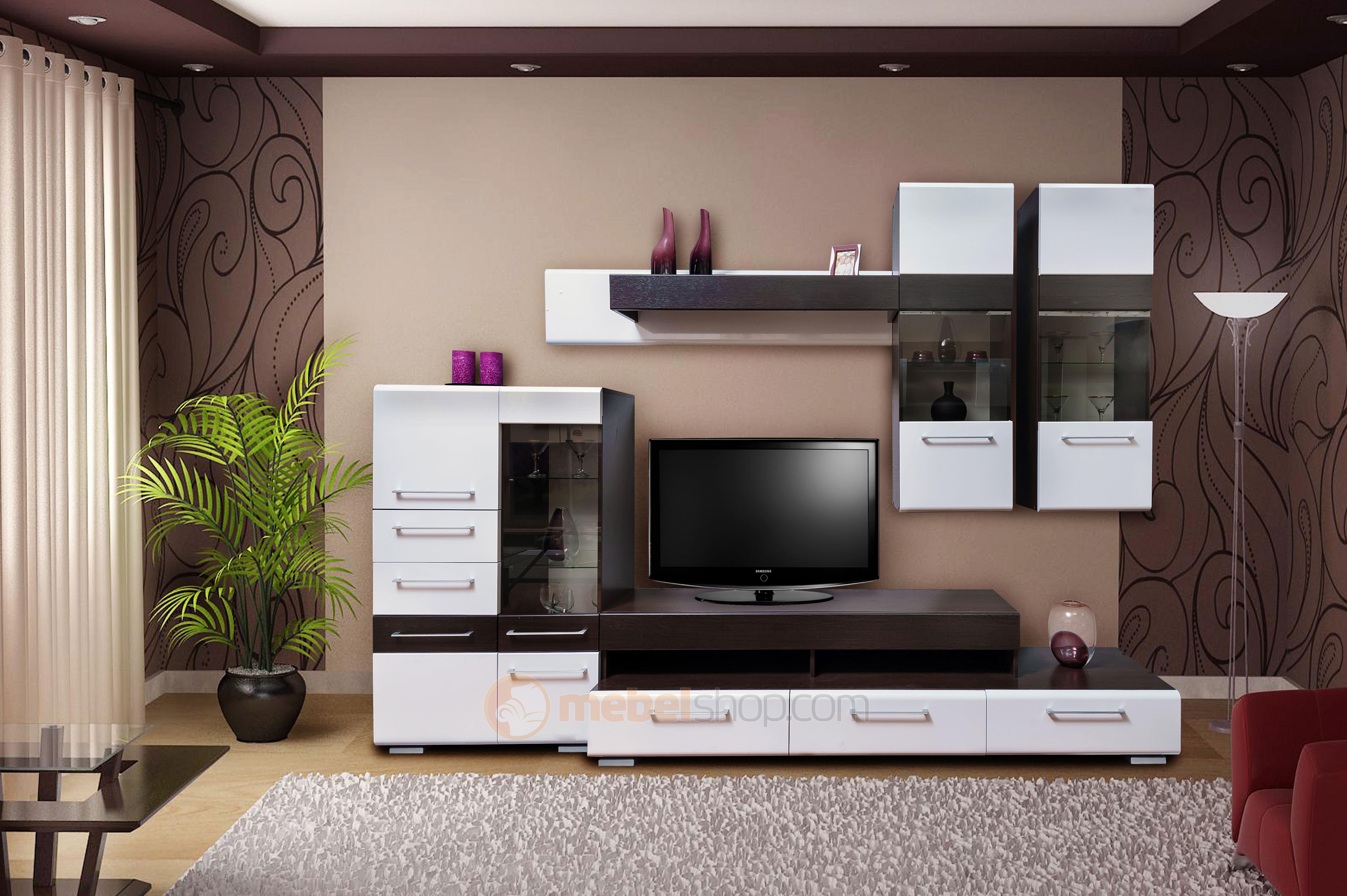 Корпусная Мебель Для Гостиной Венге