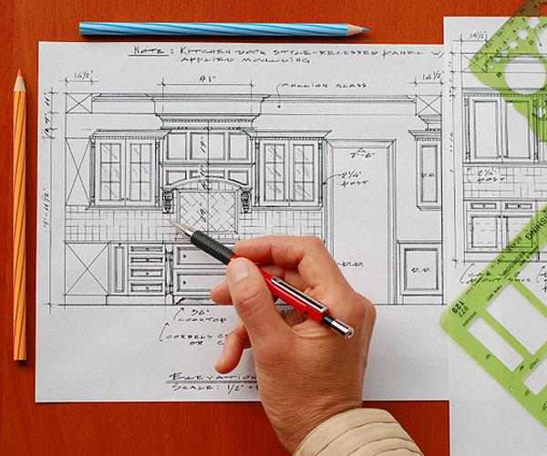 Дизайн-проект корпусной мебели на заказ